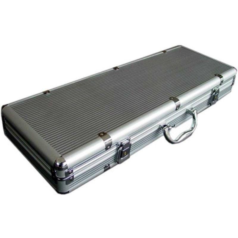 Maletín de aluminio vacío para 500 fichas de poker