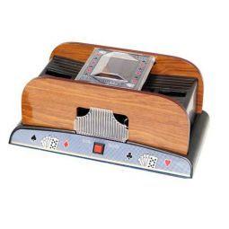 Baralhador automática com lados de madeira 1 ou 2 baralhos