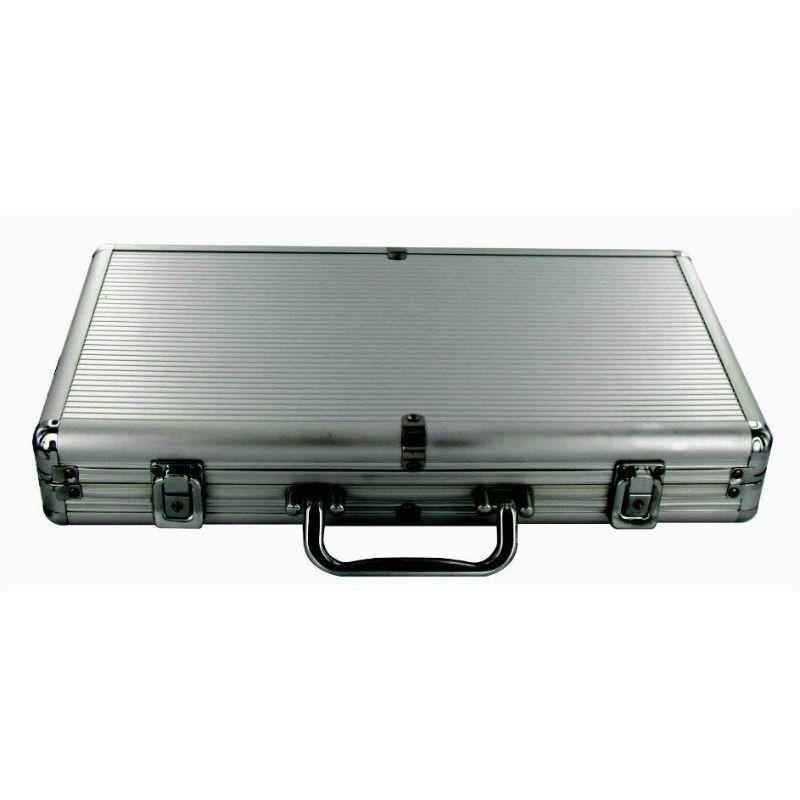 Maletín de aluminio vacío para 300 fichas de poker