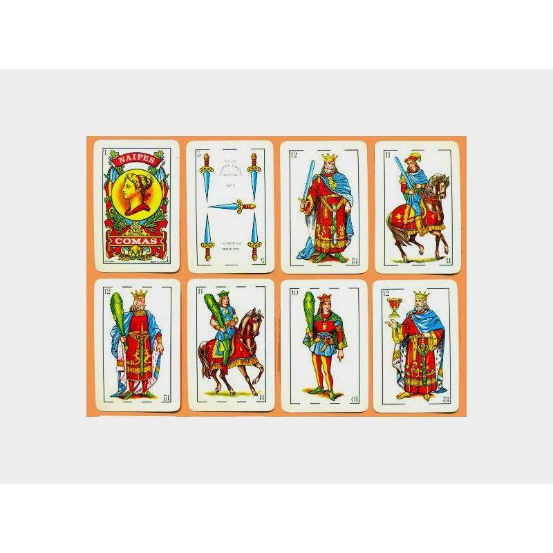 Baraja poker estilo español 5 Jotas