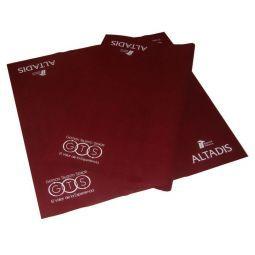 Personalização de tapetes de fieltro a 90 x 90 x 0,1 cm