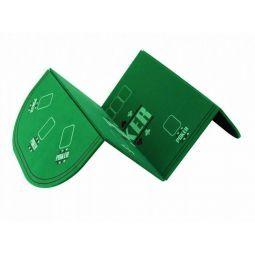 Tablero rectangular plegable para poker