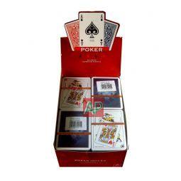 Baralhas de cartão poker Cartamundi (lote de 10)