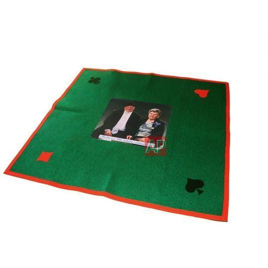 Personalización con foto de tapetes de fieltro