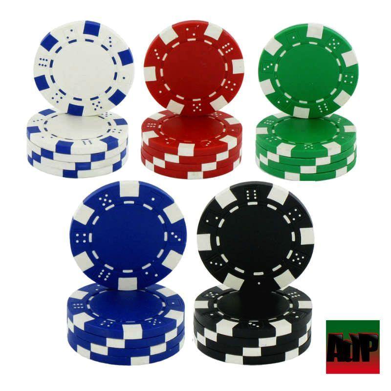 Recargas de 25 fichas de poker Dice