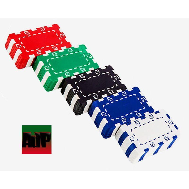 Placas de poker Dice en ABS