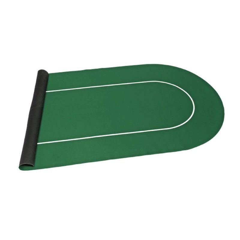 Tapete antideslizante color verde 120 cm de neopreno.