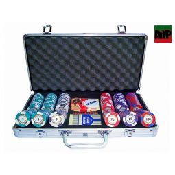Maletínes personalizables de poker fichas Lucky Chips