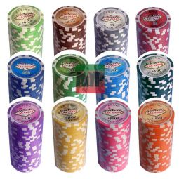 Mala o poker 500 fichas ABS  Las Vegas personalizavei