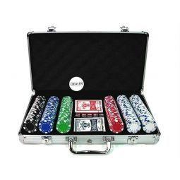 """Jogo de iniciação de poker """"Dice 300"""""""