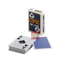 Baralhas de cartas de poker no plástico Copag Jumbo Face