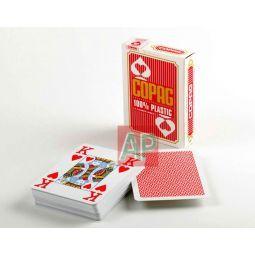 Baralhas Copag de poker quatro índices, 100 % plástico