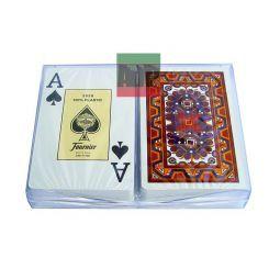"""Baralhas de poker Fournier de plástico, série """"Maya"""""""