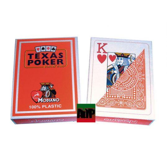 Barajas de poker Modiano, Texas Poker, azul