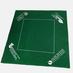 Personalización de tapetes de fieltro, verde (300 unid.)