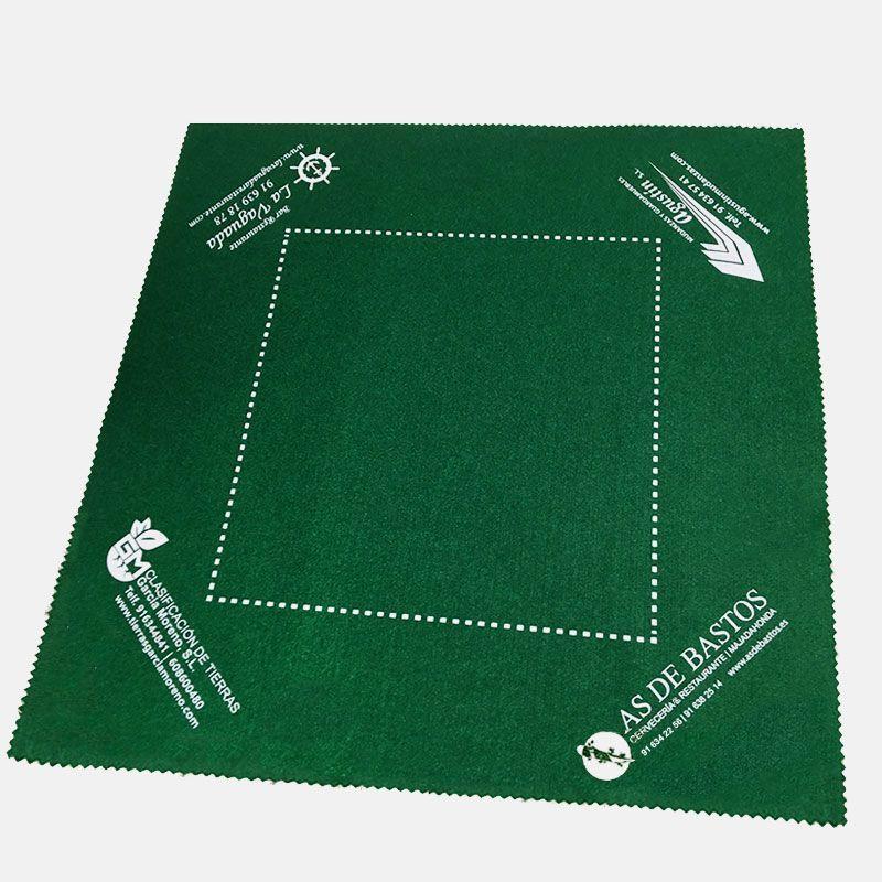 Personalização de tapetes de feltro