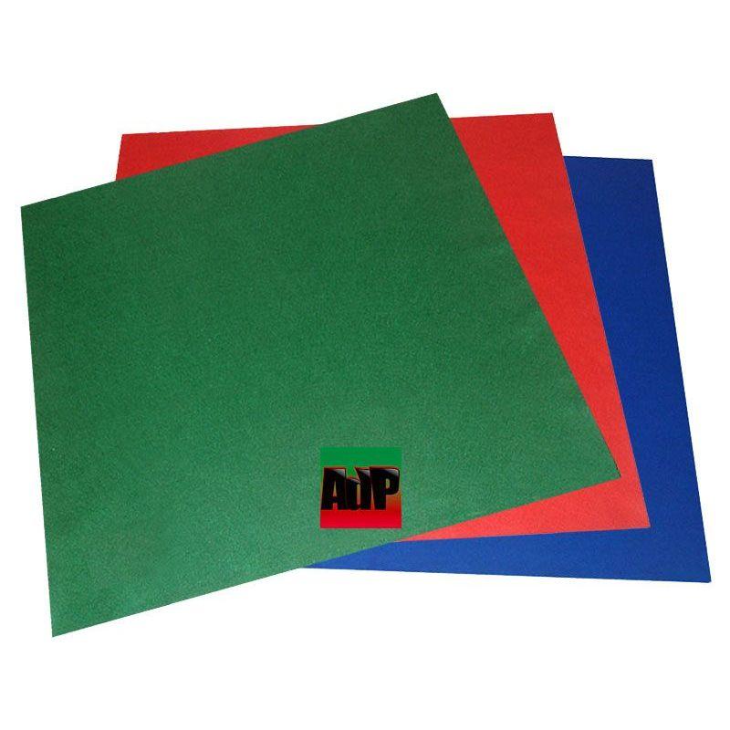 Tapete de fieltro a 90 x 90 x 0,1 cm en varios colores para juegos de cartas