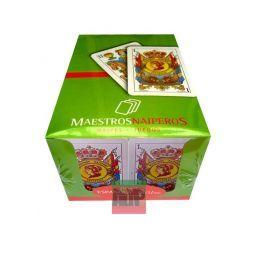 Baraja española de Maestros Naiperos (caja de 20)