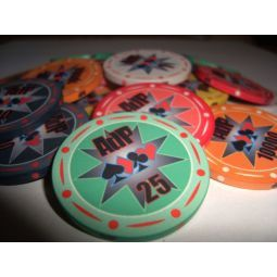 Fichas de poker de cerámica exclusivas
