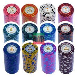 """Juego de poker completo """"Montecarlo Plus"""""""