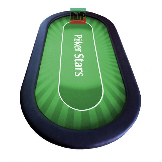 Mesa de poker para torneo verde