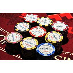 Fichas de poker Bellagio Cerámica