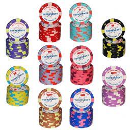 Fichas de poker de cerámica Bellagio
