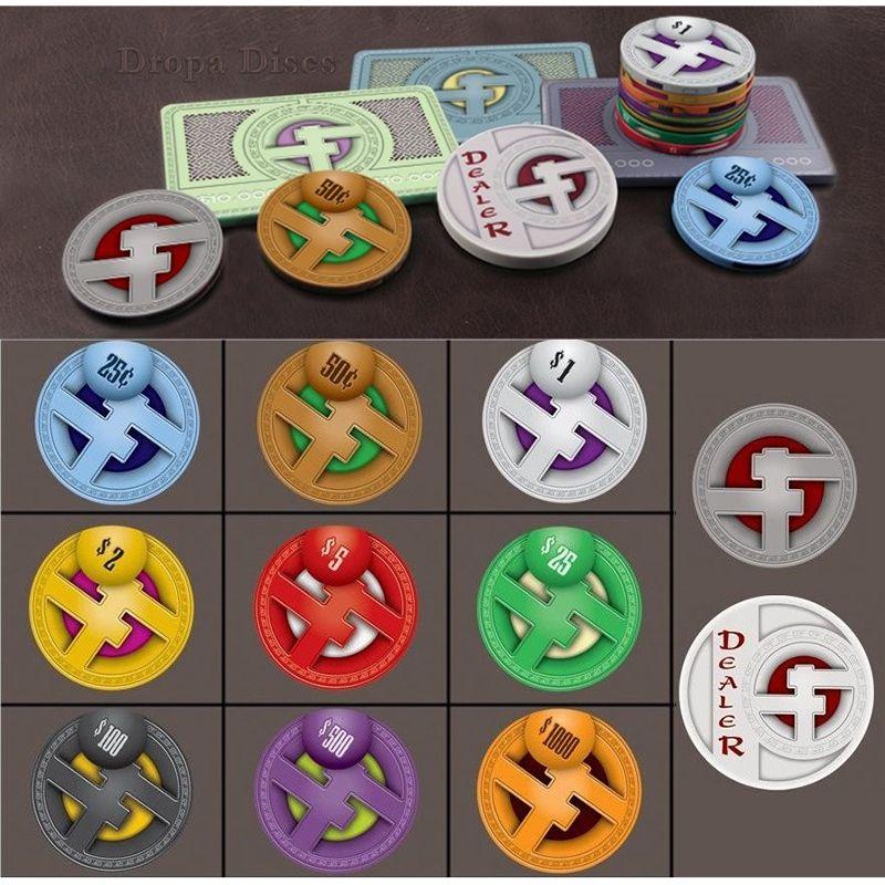 Fichas de ceramica Dropa Discs