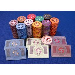 Fichas de poker de ceramica Dropa Discs