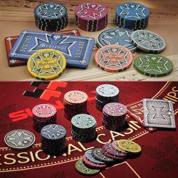 Fichas poker ceramica medieval