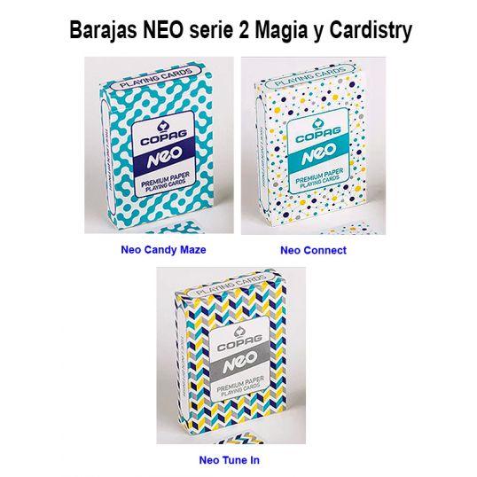 Baralhos poker Neo serie 2 magica y cardistry