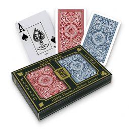 Baralhas de poker Kem em plástico, Jumbo,...