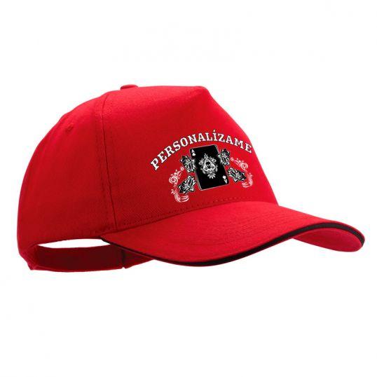 Gorra de béisbol personalizada