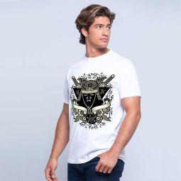 Camiseta de manga curta Samurai menino modelo