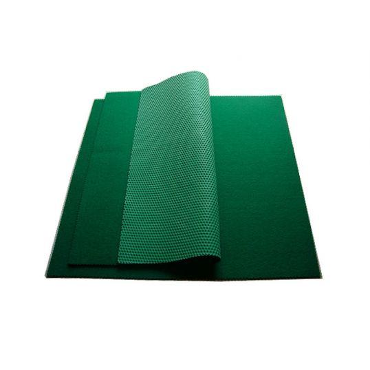Tapete de fieltro antiderrapante 50 x 50 x 0,4 cm
