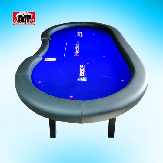 Mesa de poker cash customizada