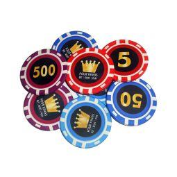 Fichas de poker de cerámica exclusivas y personalizadas