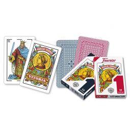 Baralho espanhola de Fournier No. 1 de 50 cartões