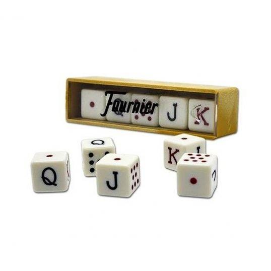 Juego de 5 dados de poker