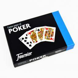 """Set """"Como jogar poker"""" por Fournier"""