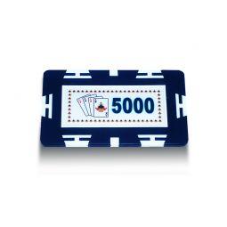 Placas de poker ABS con valor 5000