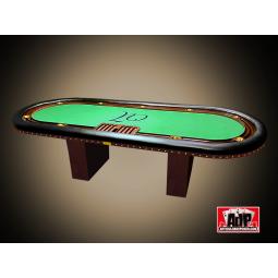 Mesa de poker de lujo, totalmente personalizable