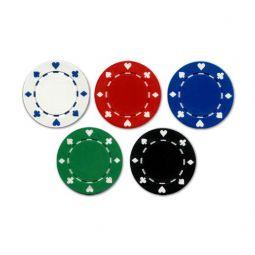 Fichas de poker suited