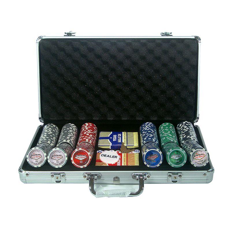Maletines de poker de 300 fichas Las Vegas