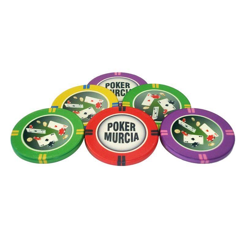 Fichas de poker Murcia personalizaveis