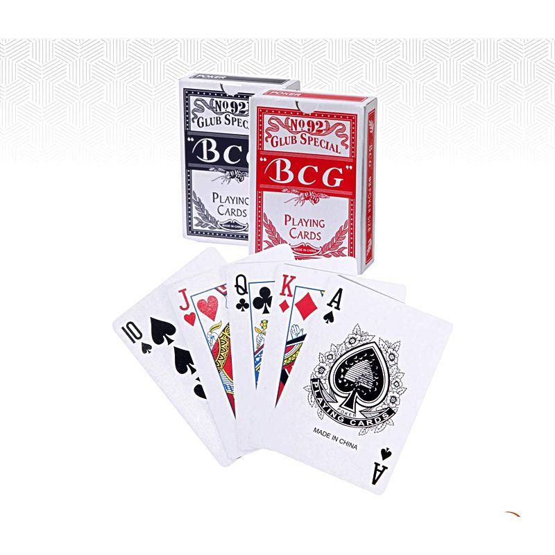 Cartas de pôquer BCG