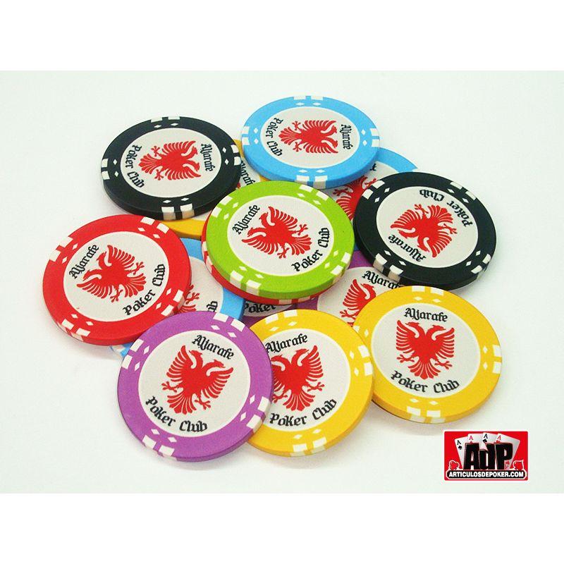 Personalização de fichas de poker