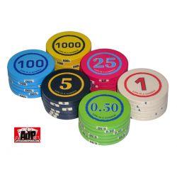 Comprar fichas de poker personalizáveis