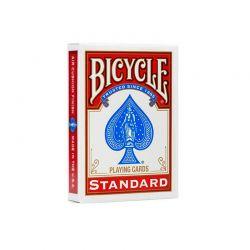 Barajas de poker Bicycle Standard roja