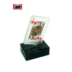Trofeo carta de poker en metacrilato